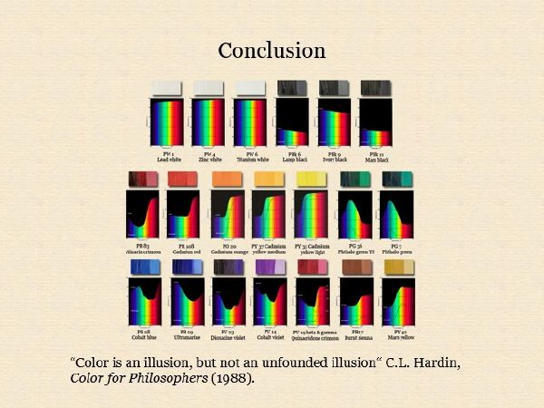 The Dimensions of Colour, colour vision, colour constancy